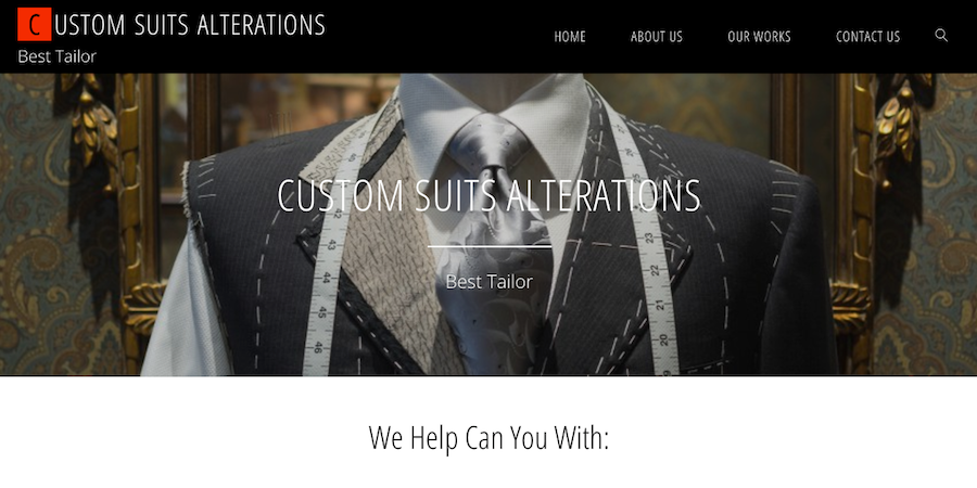 Custom Suit Alterations